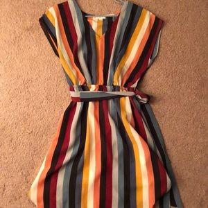 New! Striped dress